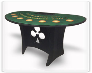 Buy Portable Blackjack Tables in Walnut Trailer Villa