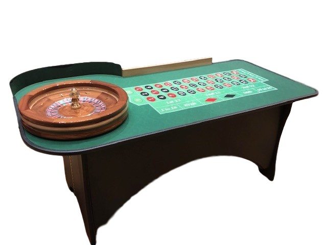WBC Gaming Portable Roulette Table & Blackjack Table in Burbank Los Angeles